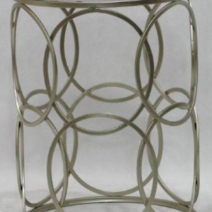 Marble Side Table Gold 56cm x 41cm