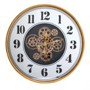 Moving Gear Clocks