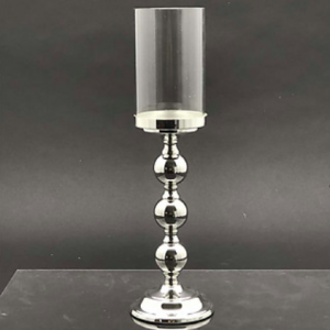 Candle Holder Silver Large 44cm