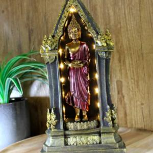 Buddha With LED Light 35cm