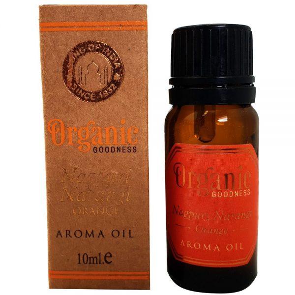 Organic Goodness Nagpuri Narangi Orange Aroma Oil 10ml