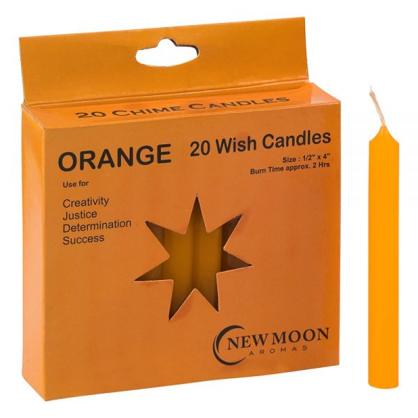 Orange 20 Wish Candles
